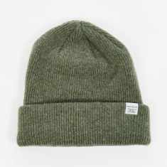 Norse Projects Beanie - Light Olive