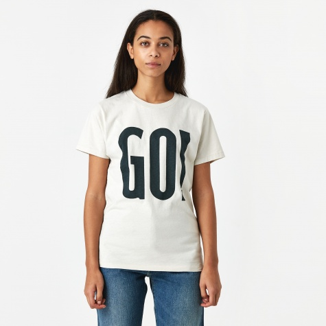 Levis Vintage Clothing Go! T-Shirt - Silver Birch