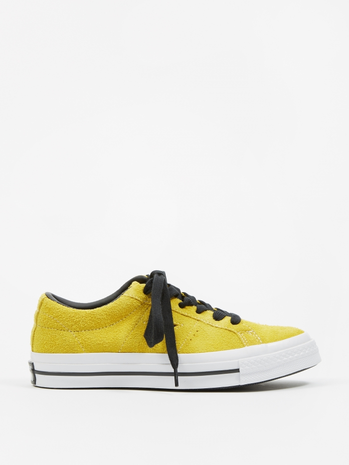 Converse One Star - Bold Citron (Image 1)