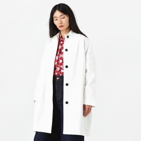 Cocoon Coat - Off White