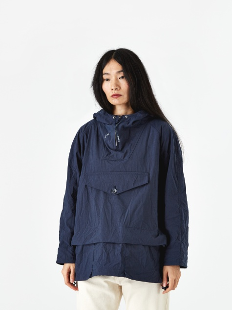 Nuts In May Hooded Jacket - Navy