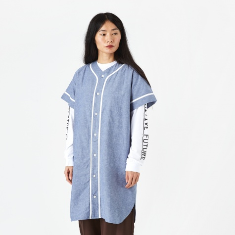Baseball Dress - Blue
