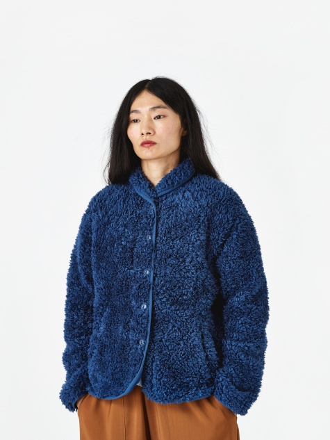 Beach Jacket Fleece - Blue