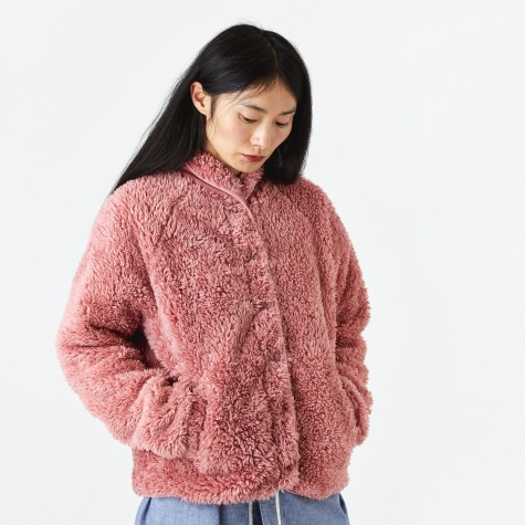 Beach Jacket Fleece - Pink