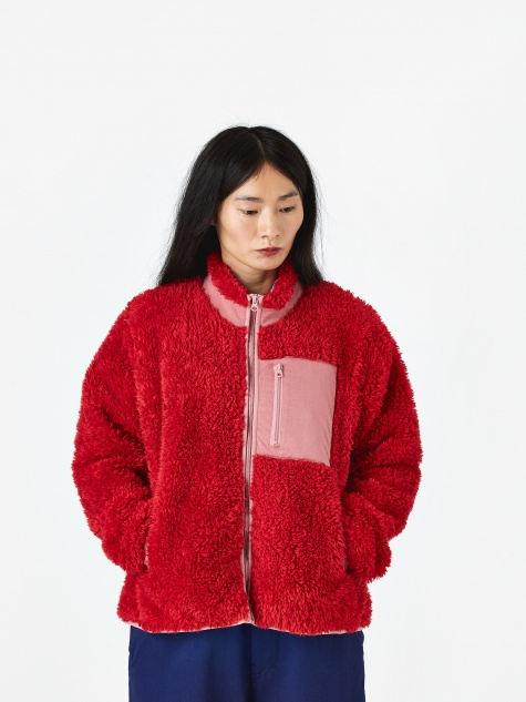 Pilgrim Fleece - Red/Pink