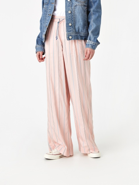 Darla Trouser - Light Rose Stripe
