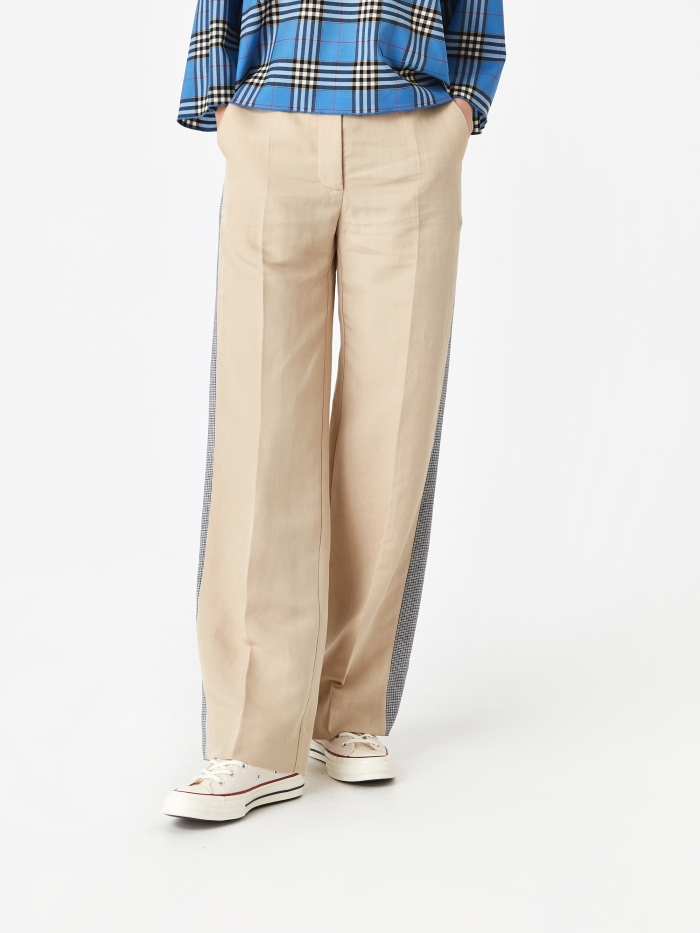 Wood Wood Barbara Trouser - Light Khaki (Image 1)