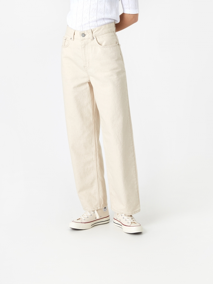 Wood Wood Ilo Jean - Off White (Image 1)
