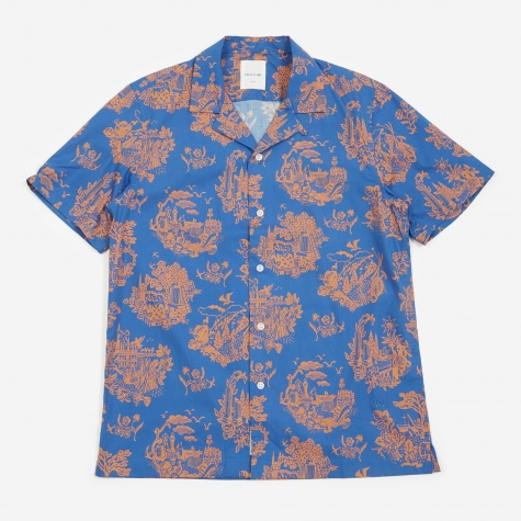 Brandon Shirt - Tourist Blue