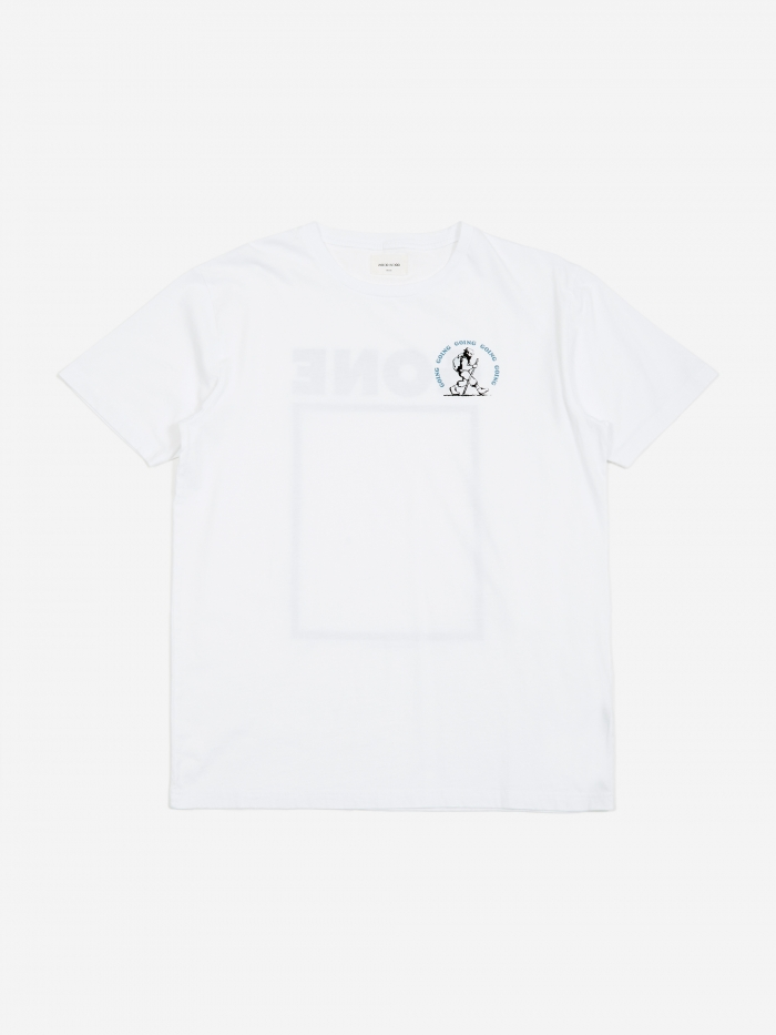 Wood Wood Gone Hiking T-Shirt - White (Image 1)