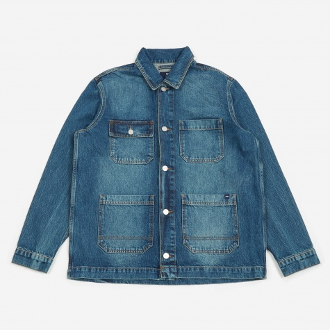 Gavin Jacket - Worn Blue