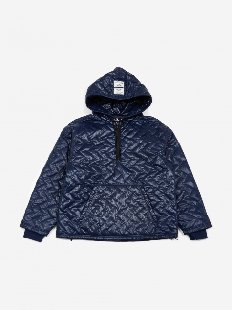 b180128139dd x P.A.M Perks And Mini Quilted Hooded Sweatshirt - Blue