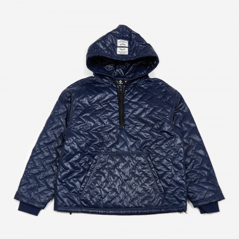 x P.A.M Perks And Mini Quilted Hooded Sweatshirt - Blue