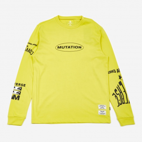 x P.A.M Perks And Mini L/S T-Shirt - Acid Haus Yellow