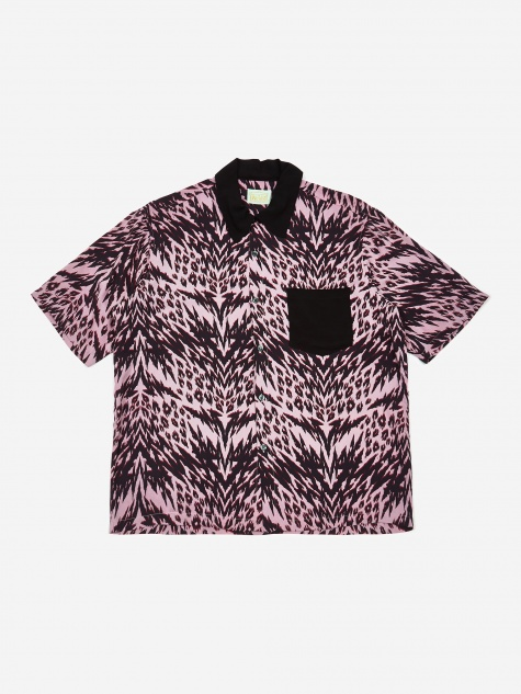 Animal Hawaiian Shirt - Pink