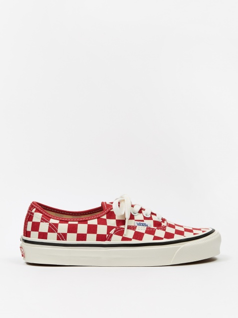 Authentic 44 DX - (Anaheim Factory) Red/Check