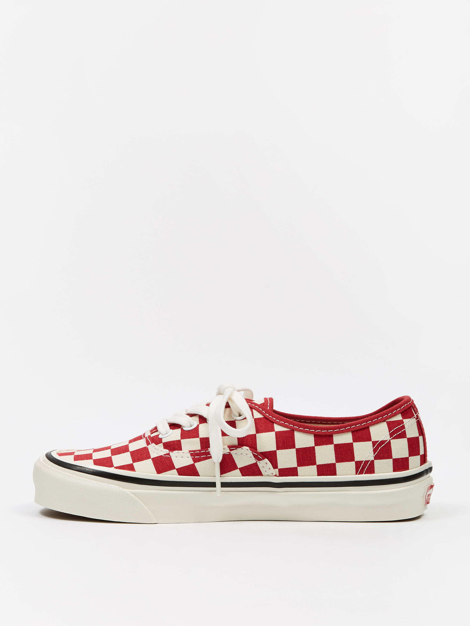 Vans Authentic 44 DX - (Anaheim Factory) Red Check e8475077b