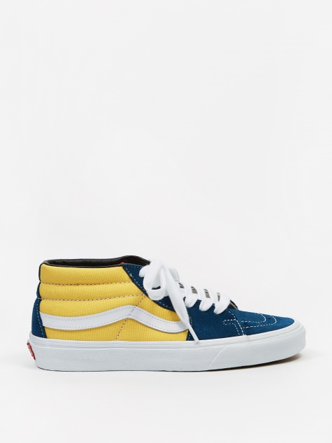 SK8-Mid - (Retro Skate) Sailor Blue/Aspen Gold