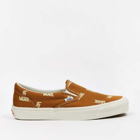 Vault OG Classic Slip-On LX - (Canvas) Buckthorn Brown/Ruta