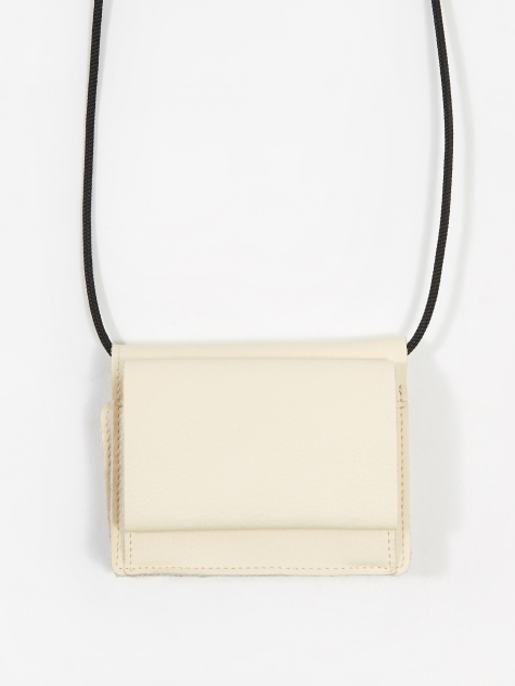Mini Cross Body Bag - Off White