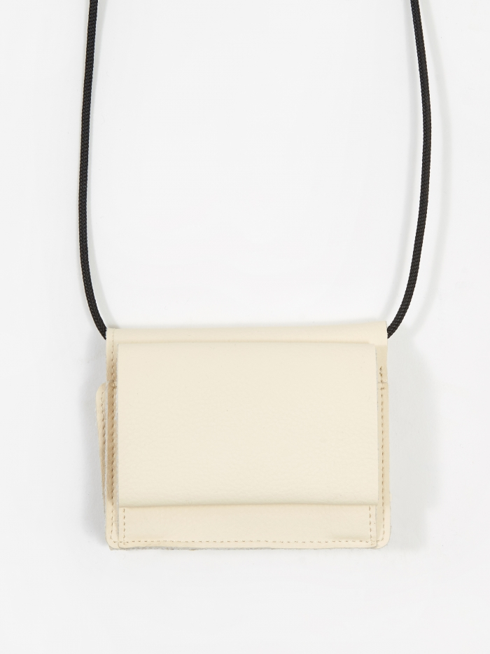 Zucca Mini Cross Body Bag - Off White (Image 1)