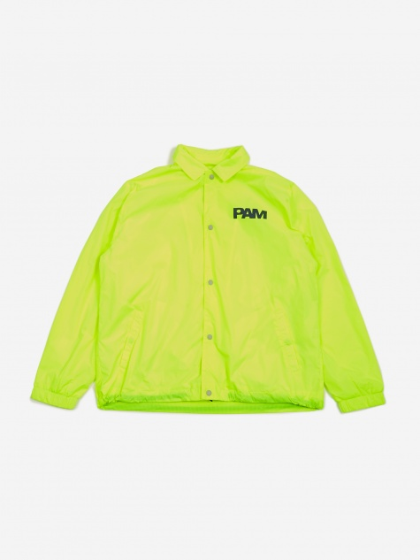 PAM Perks And Mini Alien Morphosis Coach Jacket - Fluro Yellow