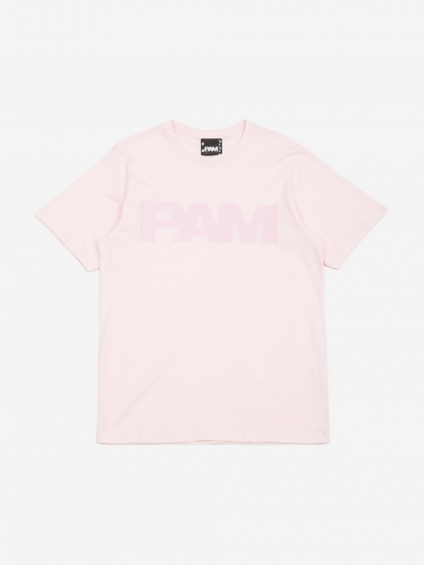 PAM Perks And Mini S.Loops Logo T-Shirt - Pale Pink