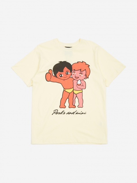 PAM Perks And Mini More Fun With Friends T-Shirt - Lemon Yellow