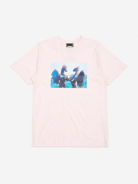 PAM Perks And Mini Lemuria Is A Place T-Shirt - Pale Pink