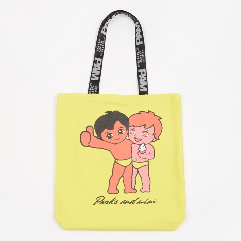 PAM Perks And Mini Friends Tote Bag - Bright Yellow