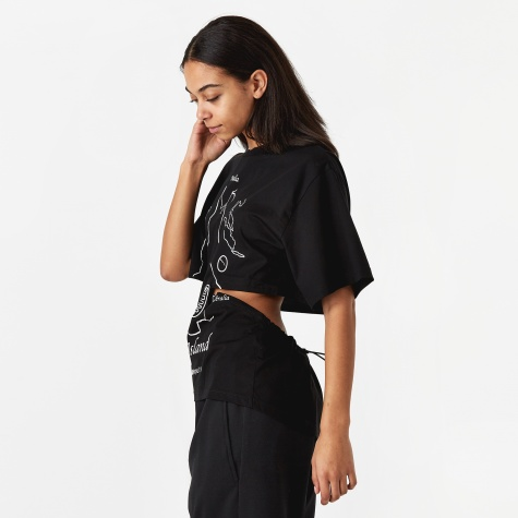 PAM Perks And Mini Refracted Modified T-Shirt - Black