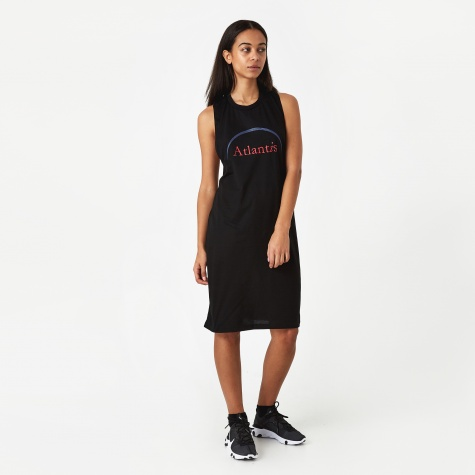 PAM Perks And Mini Reflected Modified T-Shirt Dress - Black