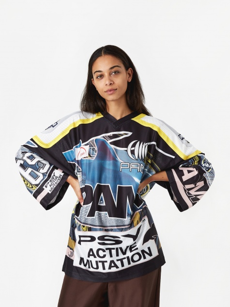 PAM Perks And Mini New Worlds Sublimation Top - Blue/Yellow/Pink