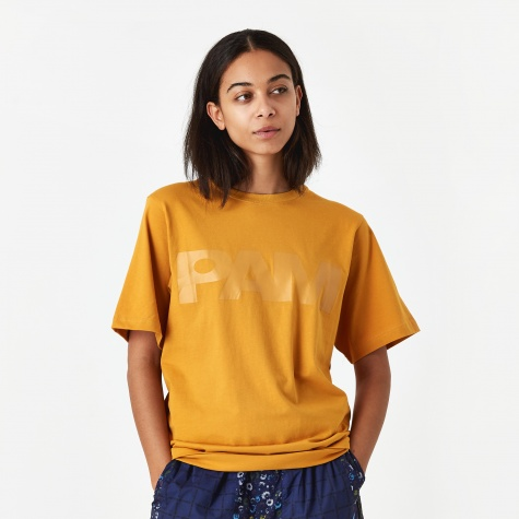 PAM Perks And Mini S.Loops Logo T-Shirt - Ochre