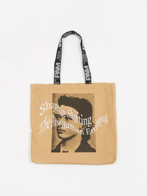 PAM Perks And Mini Strange Loops Tote Bag - Sand