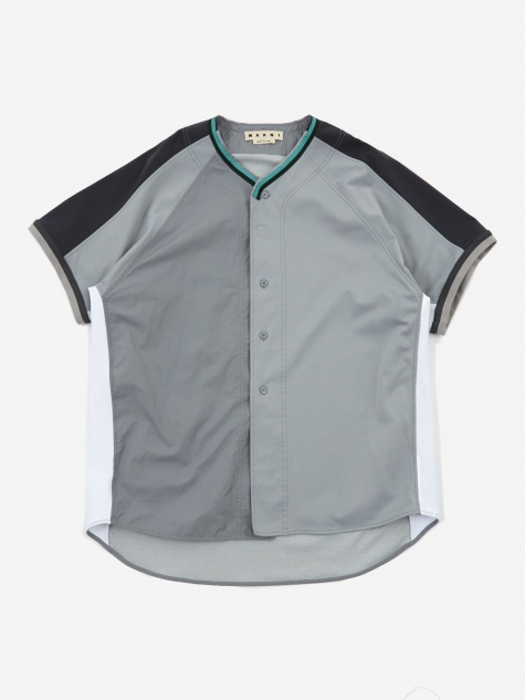 Techno Jersey Shirt- Light Grey/Anthracite