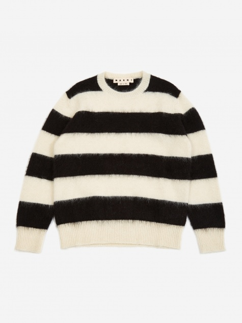 Striped Sweater - Black/White