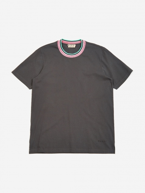 Ringer T-Shirt - Anthracite