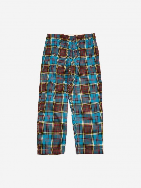 Anderson Tartan Trouser - Blue/Red/Yellow