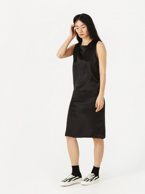 Ludo Silk Dress - Black
