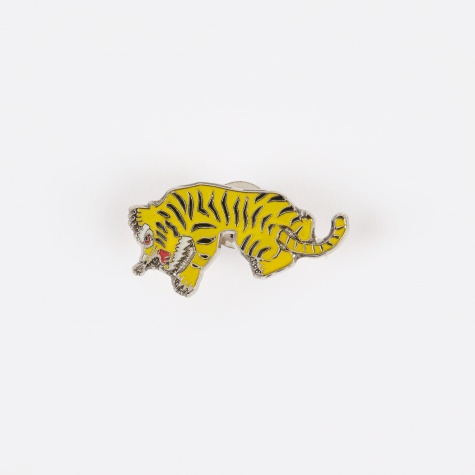 Tiger Pin - Yellow