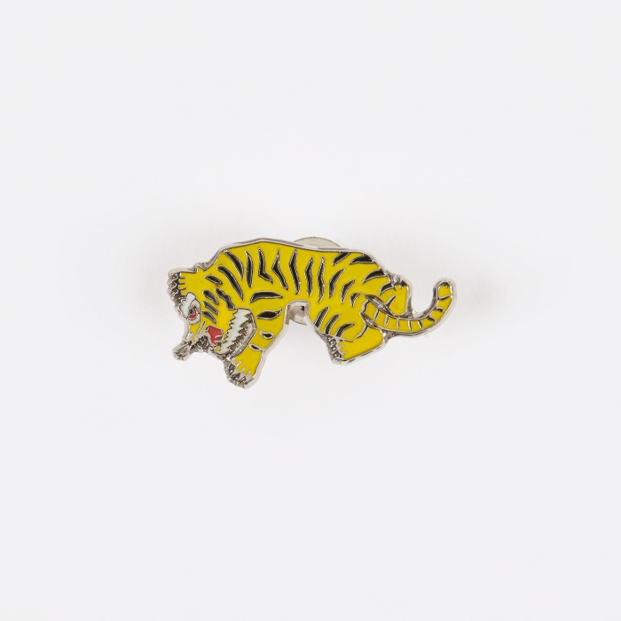 Wacko Maria Tiger Pin - Yellow (Image 1)