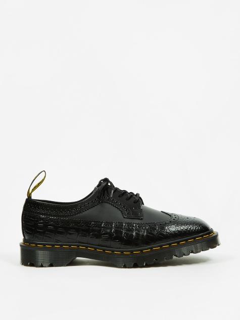Dr. Martens x Engineered Garments 3989 5-Eye Brogue - Black