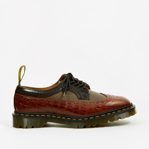 Dr. Martens x Engineered Garments 3989 5-Eye Brogue - Brown