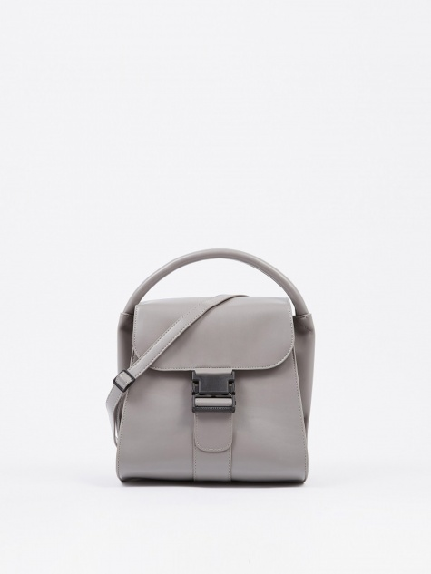 Small Clasp Bag - Grey