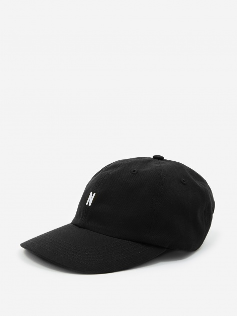 267d4113964 Twill Sports Cap - Black. Norse ProjectsTwill ...