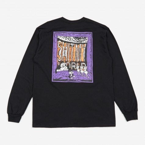 x Face & Shinknownsuke L/S T-Shirt - Black