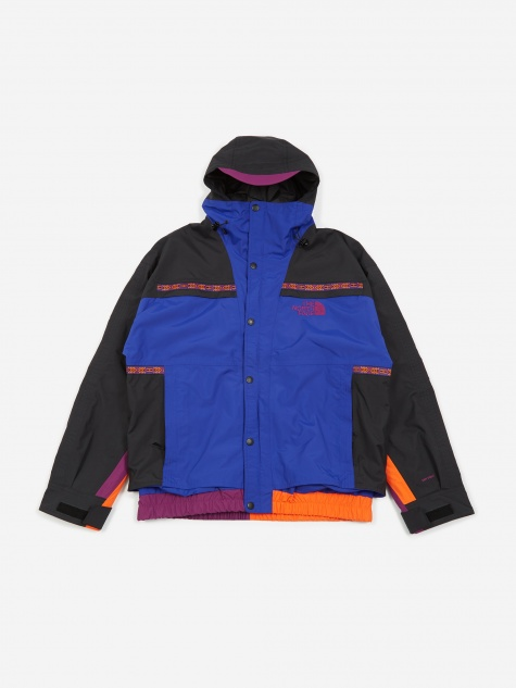 The North Face 92 Retro Rage Rain Jacket - Aztek Blue Rage Combo