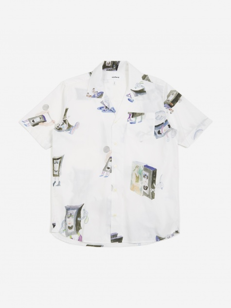 Cornwall All Over Print Shirt - Multi