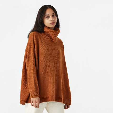 Theo Knitted Sweater - Camel
